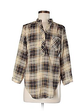 Cotton Express 3/4 Sleeve Blouse Size M