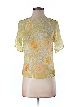 Tommy Bahama Short Sleeve Silk Top Size 2