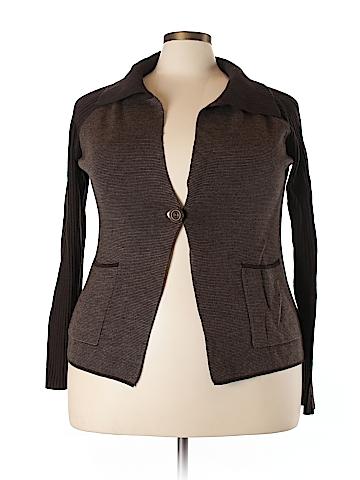 Coldwater Creek Wool Cardigan Size 18 (Plus)