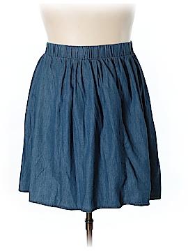 JunaRose Denim Skirt Size 18 (Plus)
