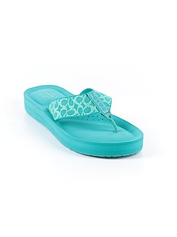 Coach Flip Flops Size 5 1/2