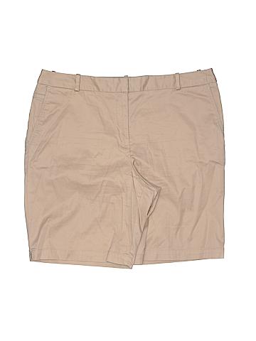 Talbots Women Khaki Shorts Size 12