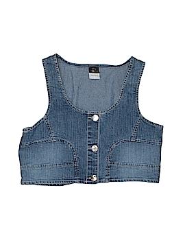 Disney Denim Vest Size X-Large (Youth)