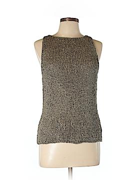 Isda & Co Sleeveless Silk Top Size L