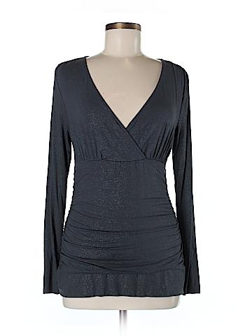 INC International Concepts Women Long Sleeve Top Size M (Petite)