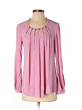 Diane von Furstenberg Long Sleeve Blouse Size 4