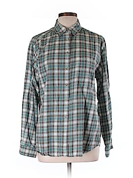 David Brooks Long Sleeve Button-Down Shirt Size 10