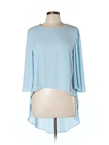 BCBGMAXAZRIA 3/4 Sleeve Blouse Size L