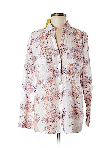 Roberta Roller Rabbit Long Sleeve Button-Down Shirt Size M