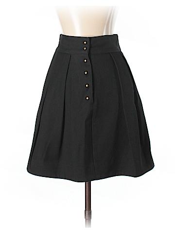 McQ Alexander McQueen Wool Skirt Size 38 (IT)