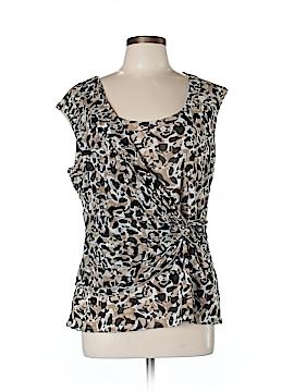 Dana Buchman Short Sleeve Top Size L