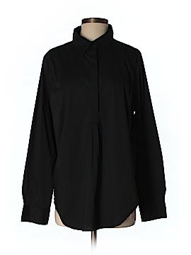 Universal Standard Long Sleeve Button-Down Shirt Size 16 (S)