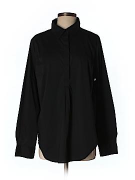 Universal Standard Long Sleeve Button-Down Shirt Size S