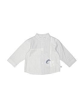 Jean Bourget Long Sleeve Button-Down Shirt Size 9 mo