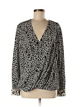 Derek Lam Long Sleeve Silk Top Size 10