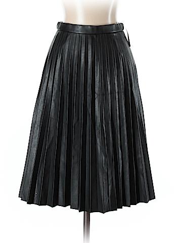 J. Crew Faux Leather Skirt Size 00 (Petite)