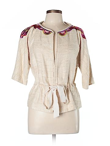 Trina Turk Silk Blazer Size 10
