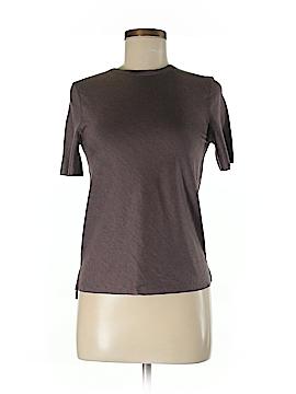 Lululemon Athletica Short Sleeve Silk Top Size 2