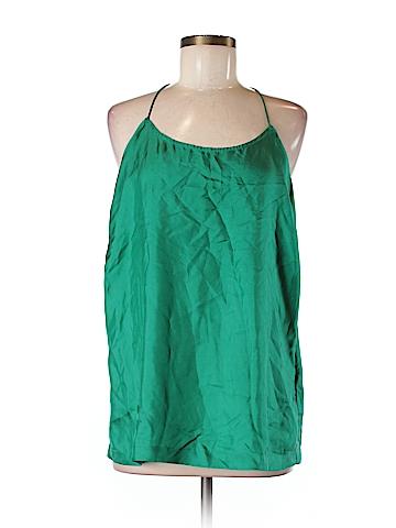 Joe Fresh Sleeveless Silk Top Size M