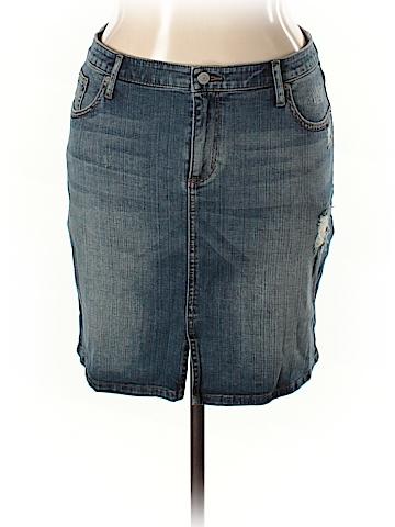 Banana Republic Denim Skirt Size 14