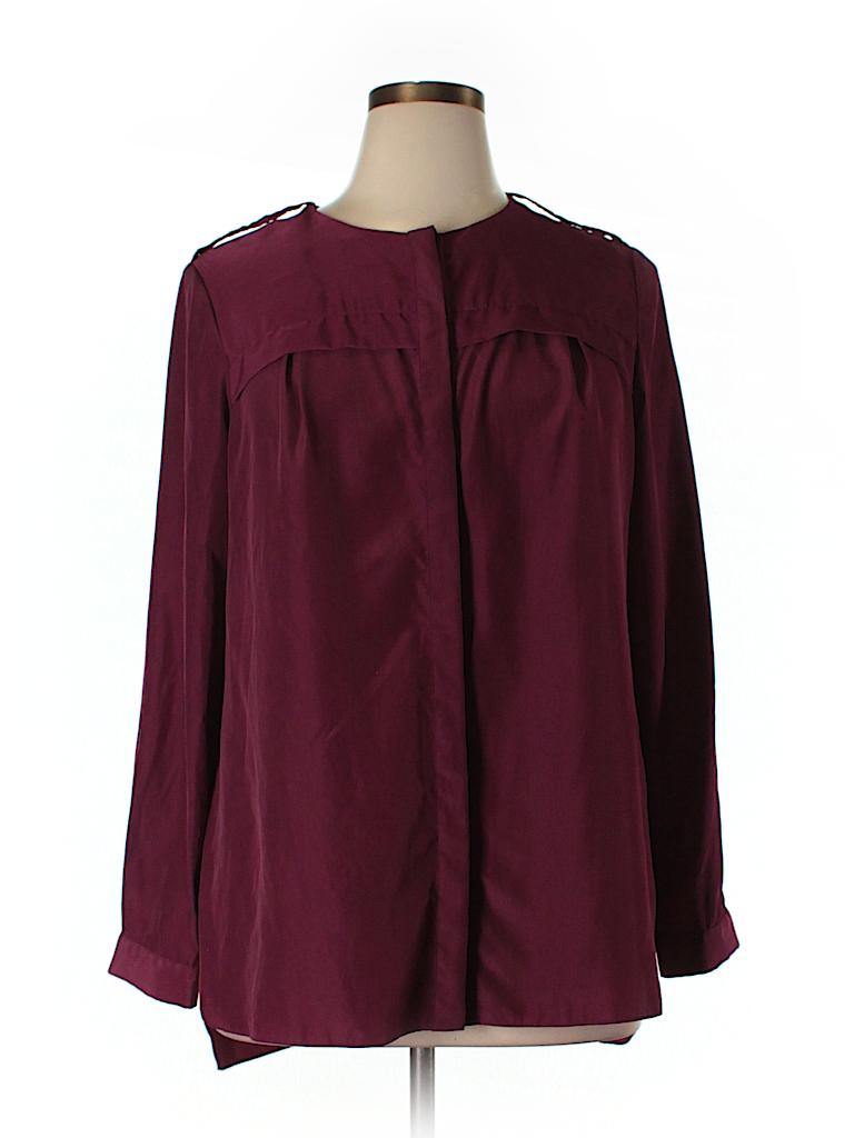 MBN Women Long Sleeve Blouse Size 0X (Plus)