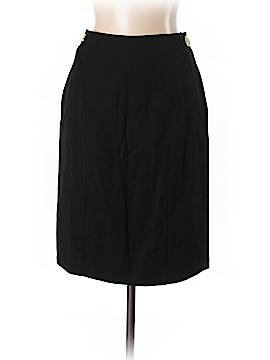 Valentino Miss V Wool Skirt Size 46 (EU)