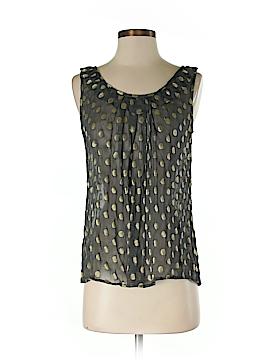 Fashion Spy Sleeveless Blouse Size S