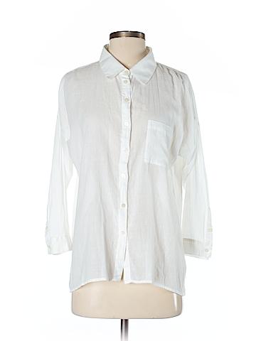 C&C California 3/4 Sleeve Button-Down Shirt Size S