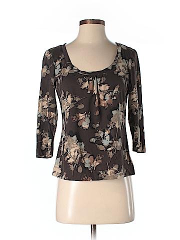Liz & Co 3/4 Sleeve Top Size S