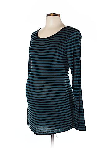 Velvet by Graham & Spencer Long Sleeve T-Shirt Size L (Maternity)
