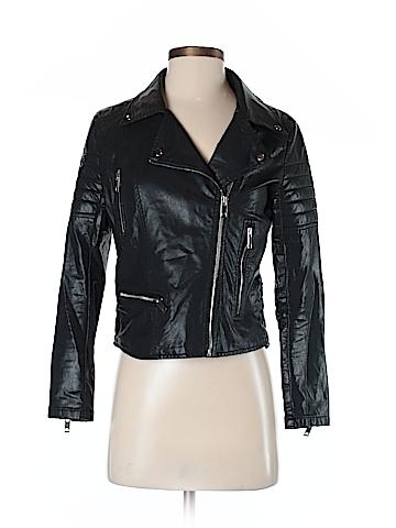 Blank NYC Faux Leather Jacket Size XL