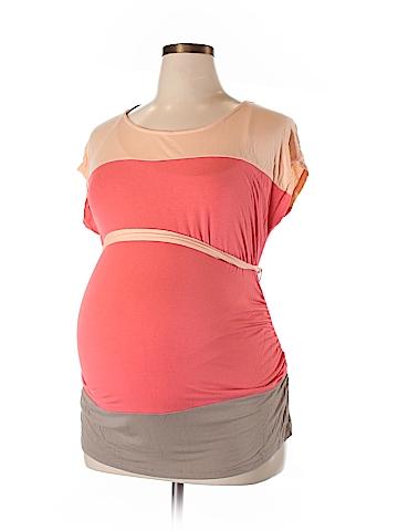 Liz Lange Maternity for Target Short Sleeve Top Size XL (Maternity)
