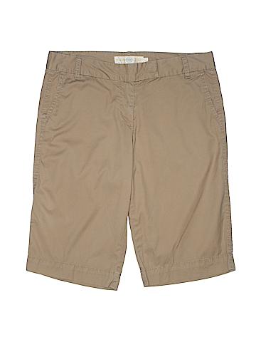 J. Crew Women Khaki Shorts Size 6