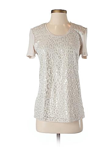 Ann Taylor LOFT Short Sleeve Blouse Size S