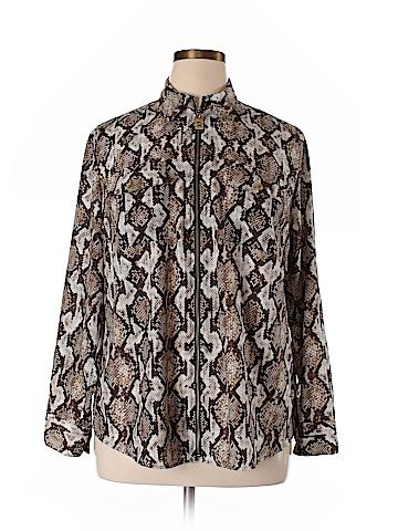 MICHAEL Michael Kors Track Jacket Size 1X (Plus)