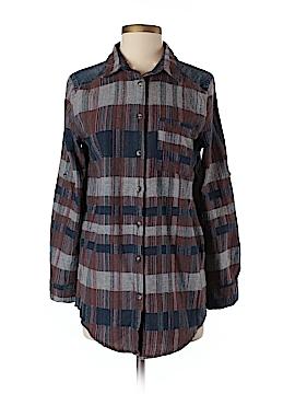 LoveRiche Long Sleeve Button-Down Shirt Size S