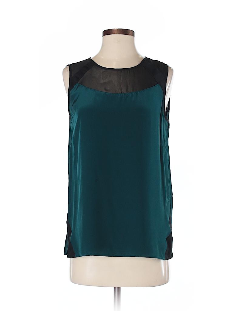 Nell Women Sleeveless Silk Top Size S