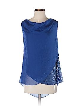 H Trend Sleeveless Silk Top Size XS