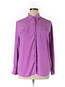 Ralph Lauren Long Sleeve Blouse Size XL