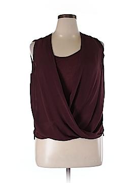 A.L.C. Sleeveless Silk Top Size L