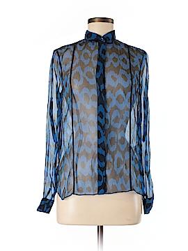 ADAM by Adam Lippes Long Sleeve Silk Top Size S
