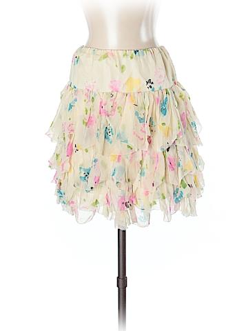 Ralph Lauren Rugby Silk Skirt Size XS