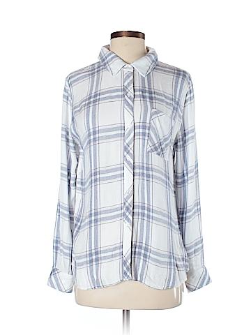 Rails Long Sleeve Button-Down Shirt Size S