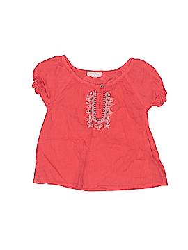 Purebaby Short Sleeve Blouse Size 0-3 mo