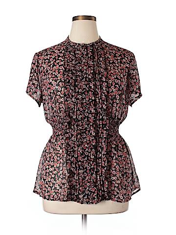 Torrid Short Sleeve Blouse Size 1X (Plus)