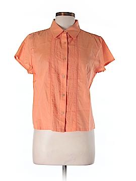 North Crest Short Sleeve Button-Down Shirt Size M