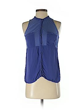 Splendid Sleeveless Button-Down Shirt Size XS