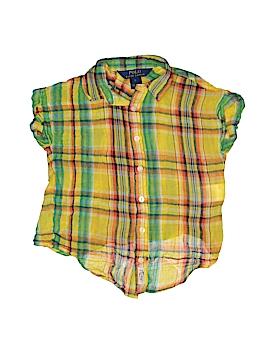 Polo by Ralph Lauren Short Sleeve Button-Down Shirt Size 5