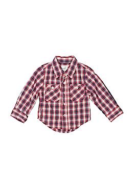 Peek... Long Sleeve Button-Down Shirt Size S (Infants)