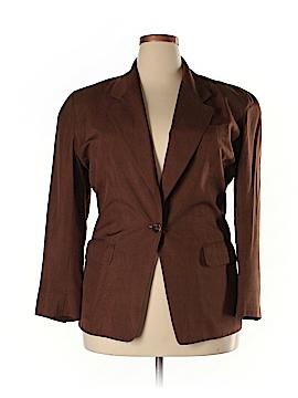 Anne Klein II Silk Blazer Size 12